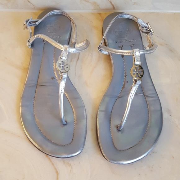 6fec27e218dbec Authentic Tory Burch Sling-back Sandals. M 5c38c1cbbb761566c5dab3cf